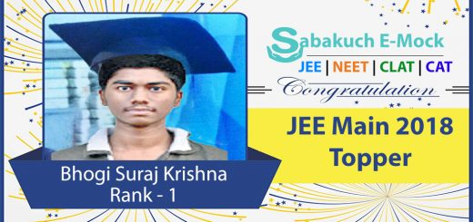 JEE-Main-Topper-2018-sabakuch
