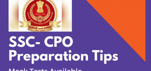SSC-CPO-Preparation