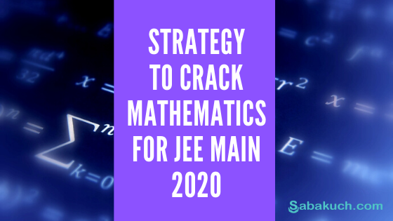 Jee Main april 2020