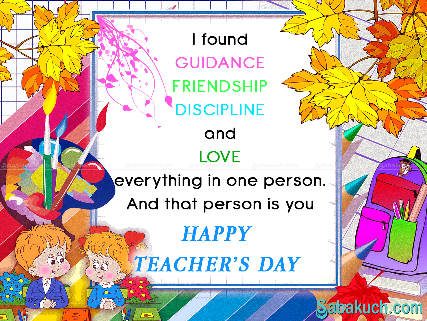 Teachers day...mnh