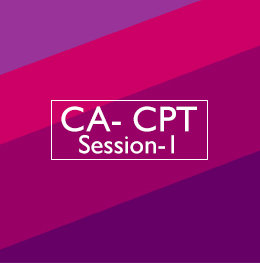 CA-CPT Session-1