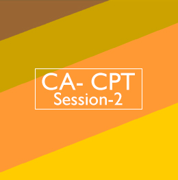 CA-CPT Session-2