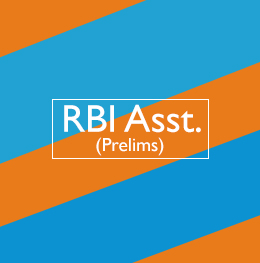 RBI Assistant (Prelims)
