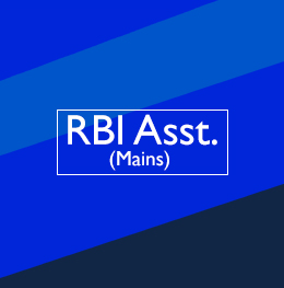 RBI Assistant (Mains)